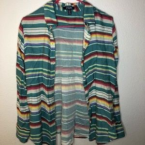 Chaps Colorful button up